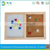 Lanxi xindi half white board cork board teaching aids for schools