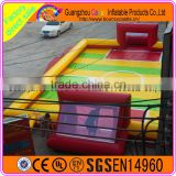 Outdoor PVC Inflatable Football Field, Inflatable Football Pitch, Inflatable Football Arena For Sale