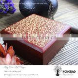 HONGDAO wooden gift box, handmade wooden gift box, handmade wooden gift box with magnet closure
