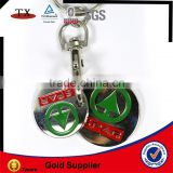 trolley key chain coin holder
