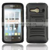 Heavy duty and rugged hoslter Cellphone case cover for Alcatel one touch evolve 2 OT4037