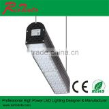 High Lumen Supermarket Lighting led linear pendant light 100w 150w 200w with 5years warranty