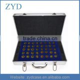 Aluminum Coin Tray Collection Display Security Case Aluminum Coin Display Case ZYD-021101
