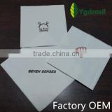 manufacture factory made custom printed cocktail paper napkin