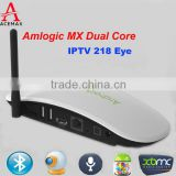 Android Tv Box With Skype Camera Amlogic 8726 MX Dual Core SKYPE CAMERA SMART TV webcam mini pc
