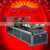 LED UV Flatbed Printer impresso wood printer glass crystal, ABS, acrylic, metal, stone,leather, cotton metal printer