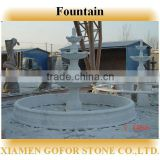 Nice hand carved natural stone outdoor fountains, 3 tier stone fountain