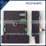 Shaft height 8.0mm Radio controlled sweep clock movement for China power brand cheap price RC331B-BPC