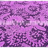 High Quality tree leaves design water soluble nylon Lace Fabric For dress from China factory