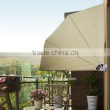 folding wind screen side awning retractable awning