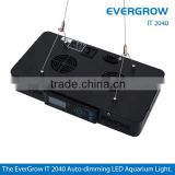 Evergrow IT2040 programmable wireless remote control hot sale 120w led coral reef aquarium lights