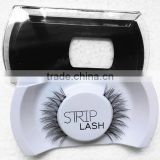 Factory price handmade natural thick fake eyelashes 0.07 wholesale for lady eyes beautiful