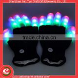 Rave Light Flashing Finger Lighting Glow Mittens LED Glow Gloves                                                                         Quality Choice