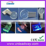 new products 2016 beautiful crystal usb,engraving logo crystal usb flash drive,LED light usb 1gb 2gb 4gb 8gb