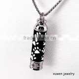 black plated enamel stainless steel diffuser pendant