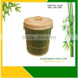 High-quality and exceptional durability with rattan bamboo basket