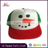 2016 New Christmas Decoration baseball caps for men elastic fitted baseball caps $1.00 wholesale