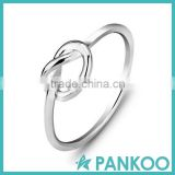 Hot fashion 925 sterling silver love knot ring for wedding and engagement