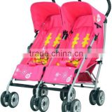 2015 Europe Hot sale Double seat/Twins Baby Pushchair/ Stroller