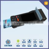 Android Handheld EFT POS Terminal with Thermal Printer,2D,Fingerprint,NFC Reader