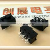 Ship type switch waterproof type hoist crane press button 1207 fs+ f2as9 71-1 rocker switch