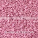 Wholesale decorative glass sand with plastic bottle packaging