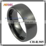 Hot Sale Comfort Fit Black Ceramic Wedding Band