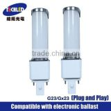 UL G24 G10Q Led PL Lamp compatible ballast (Support dimming function) Fluorescent Light Bulbs