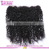 "Factory wholesale 13x4"" curly brazilian hair ear to ear lace frontal closure pieces 6a grade brazilian lace frontal closure 13x4"
