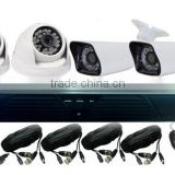 2014 Latest 3 in 1 security camera for Analog High Definition with Cloud AHD DVR Kit and support Onvif