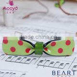 2015 acetate jewellery nice hairpin kids ribbon bow hair clip