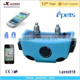 Dog Training Collar Transmitter by iPhone, iPad, iPod 5G Samsung S3/S4 and Android 4.2 Devices Waterproof Wireless Bluetooth