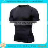 Compression Shirt Short Sleeve Top Best Running T-Shirt & Basketball Men's Tee