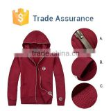 OEM High Quality Hoody Jacket For Men,Custom Design Zip Up Hoody Wholesale,Cotton Blank Hoodies New