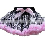 Fluffy Chiffon Pettiskirts Baby kinds of Colors tutu skirts girls Princess Dance Party Tulle Skirt petticoat wholesale
