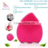 Multifunction mini reduce the double chin facial cleansing brush manufacturers face mask massager