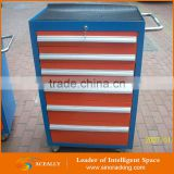 Chinese supplier refinishing new kitchen slide parts under desk drawer discount black tool box