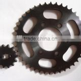 motorcycle bajaj discover 150 chain sprocket