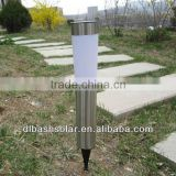 hot sale stainless steel high lumen outdoor solar garden lights