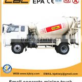 CBL new brand 6cbm small cement concrete mixer truck for sale