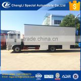 CLW customzied design outdoor performance show JAC luxury cab mobile stage truck for sale