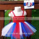 Birthday Party Kids Dresses Polyester Tutu Order From Low MOQ