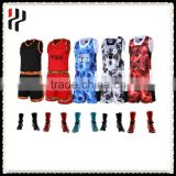 wholesale youth reversible sublimation cheap custom basketball uniform wholesale with best latest basketball jersey design 2016