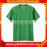 summer breathable comfort high quality short sleeve round neck pima cotton t shirt wholesale