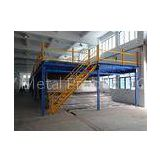 Steel Floor Deck Industrial Racking Systems , Mezzanine racking system for Machinery manufacturer