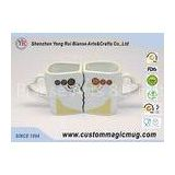 Lovely Multi Photo Color Changing Couple Coffee Mugs That Change With Heat