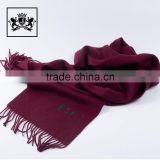 Factory fashionable cashmere shawl thick merino wool scarf