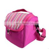 Snack Cooler Bag Baby Food Bag Hot Pink Insulated Bag