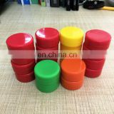 Food grade 3ml silicone wax dab container, silicone wax storage jar box