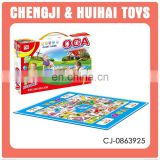 Chess carpet children game toy big size ludo game